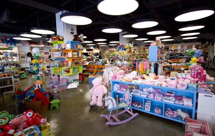 Loja de brinquedos em Los Angeles