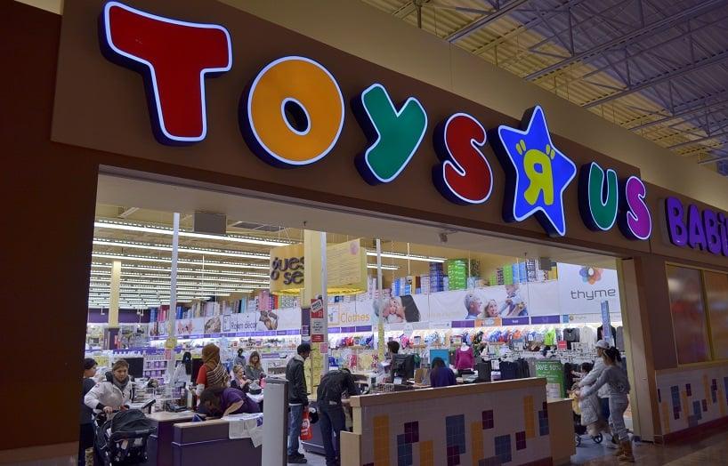 Loja de brinquedos Toy's R Us em Los Angeles