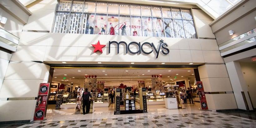 Black Friday na loja Macy's na Califórnia