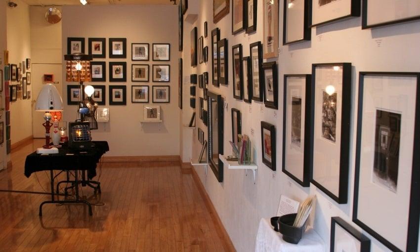 Passeio na City Art Cooperative Gallery em San Francisco