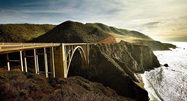 Bixby Bridge em Big Sur