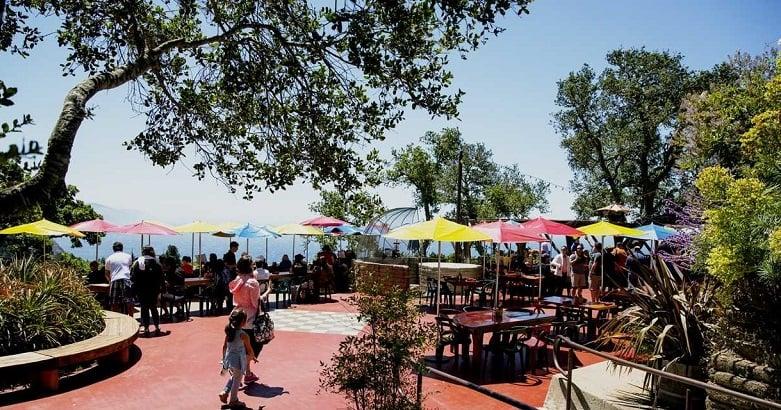 Restaurante Nepenthe em Big Sur