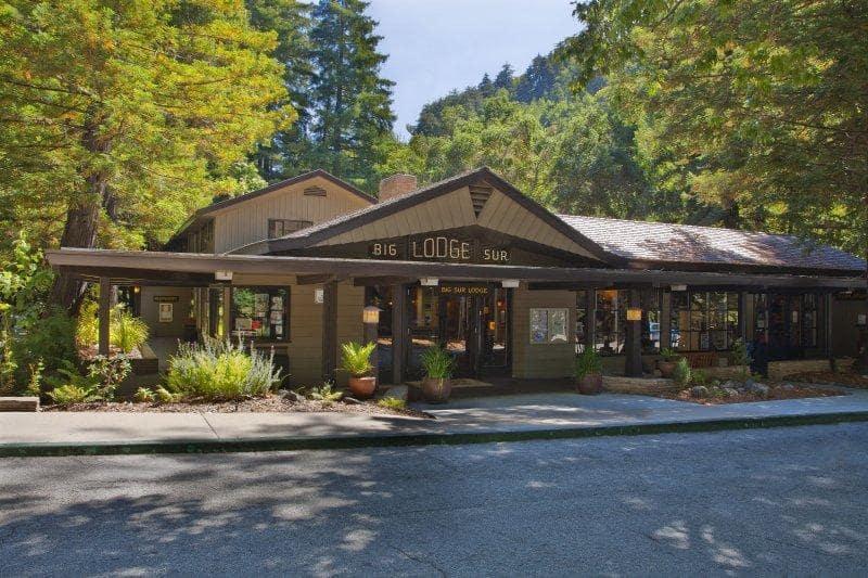 Hotéis na beira da estrada em Big Sur