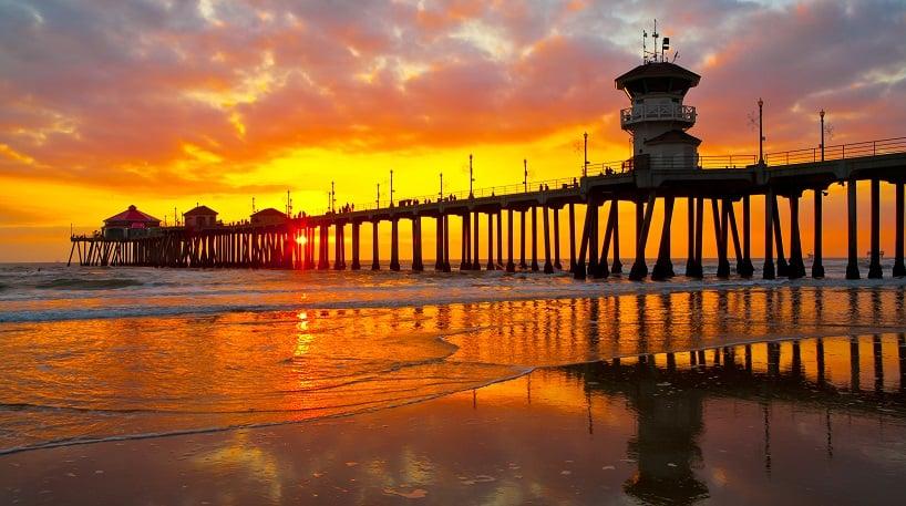 Roteiro de praias em Huntington Beach