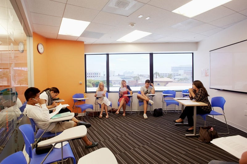 Escola de inglês EC em Los Angeles na Califórnia