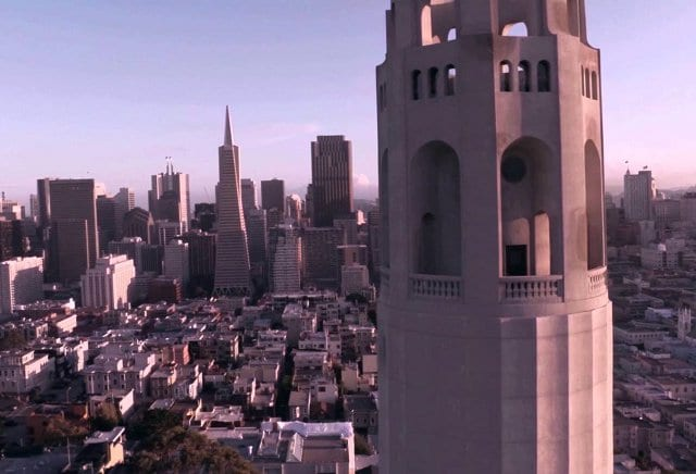 Mirante Coit Tower em San Francisco