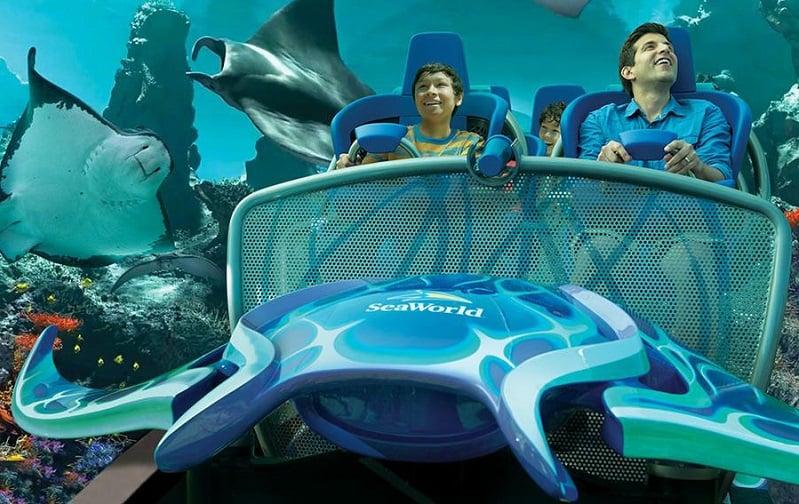 SeaWorld em um roteiro em San Diego