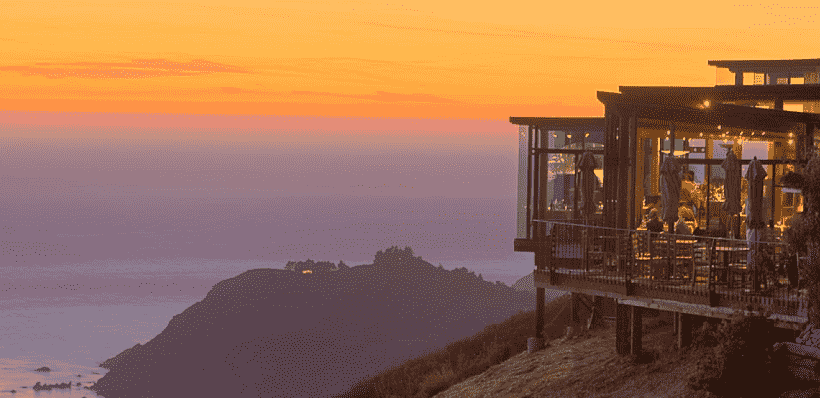 Restaurante Sierra Mar Post Ranch em Big Sur