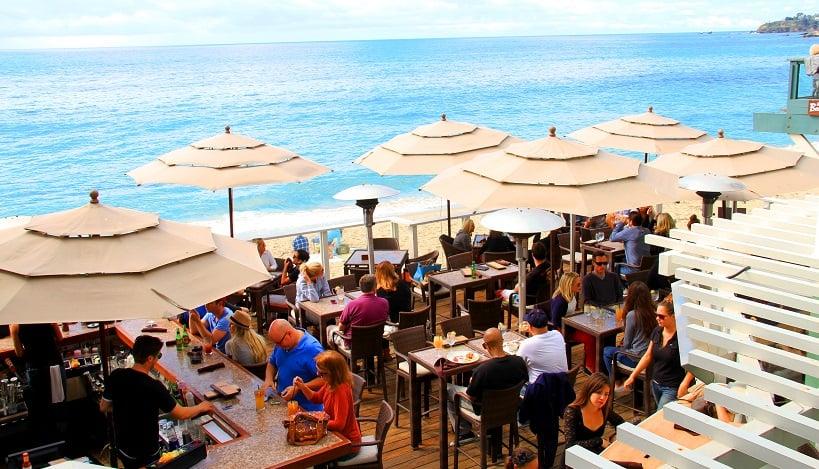 Restaurante The Rooftop Lounge em Laguna Beach