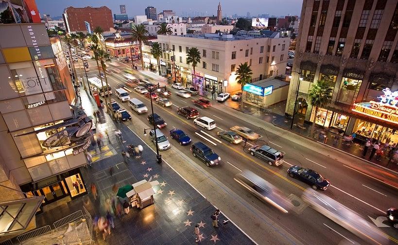 Condições climáticas no mês de fevereiro em Los Angeles