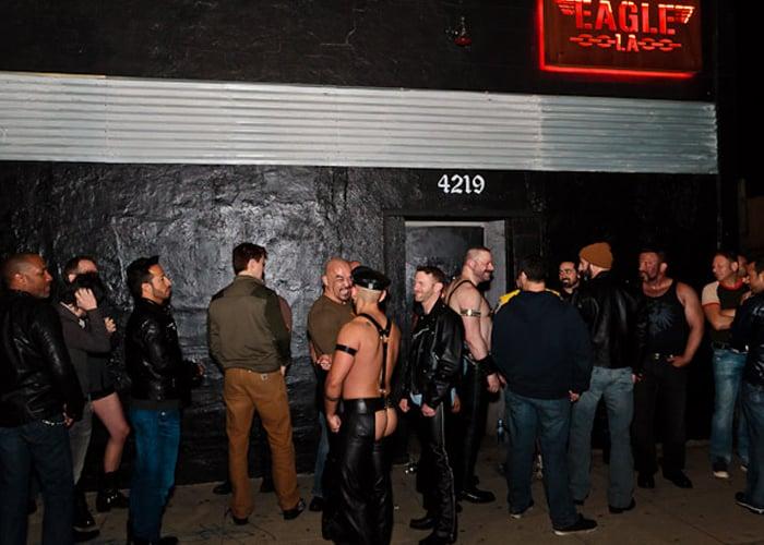 Bar/balada Eagle LA em Los Angeles na Califórnia