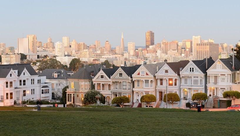 Clima no mês de janeiro em San Francisco