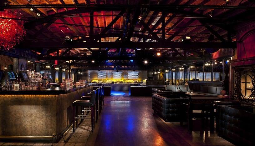 Bar Abbey em Los Angeles na Califórnia