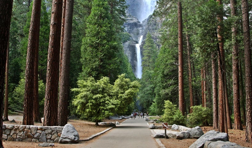 Sobre as Cataratas de Yosemite na Califórnia