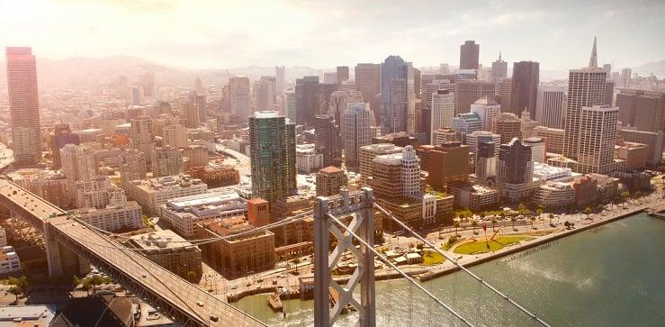 San Francisco em janeiro