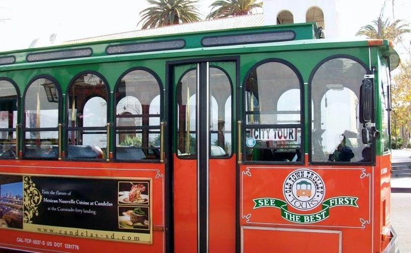 Tour de ônibus turístico em San Diego