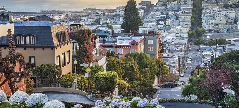 San Francisco em abril