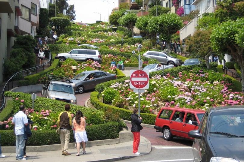 Movimentação de turistas no mês de março em San Francisco