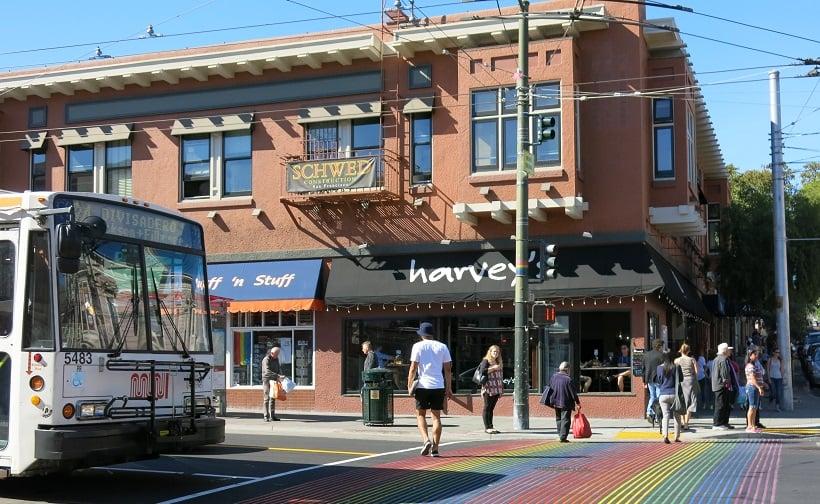 Lugares gays e gls em San Francisco