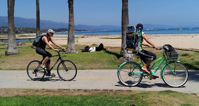 Atividades no Santa Bárbara Waterfront