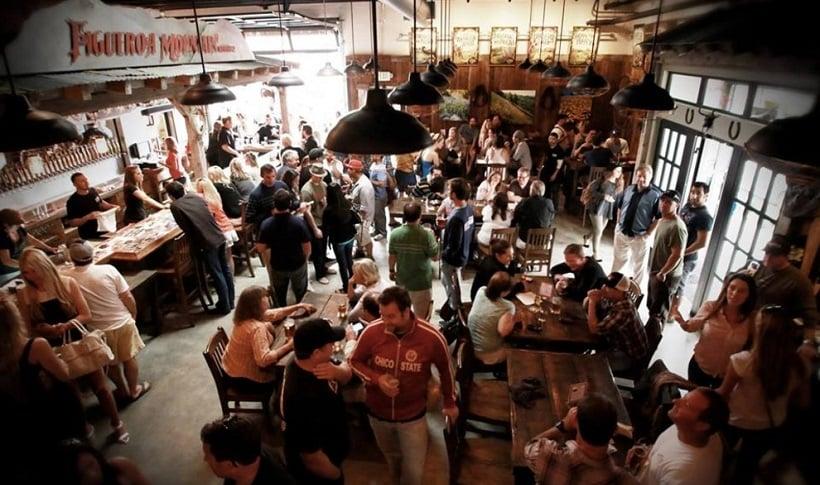 Figueroa Mountain Brewery em Santa Bárbara