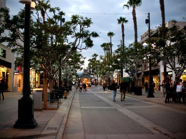 Compras em Santa Mônica