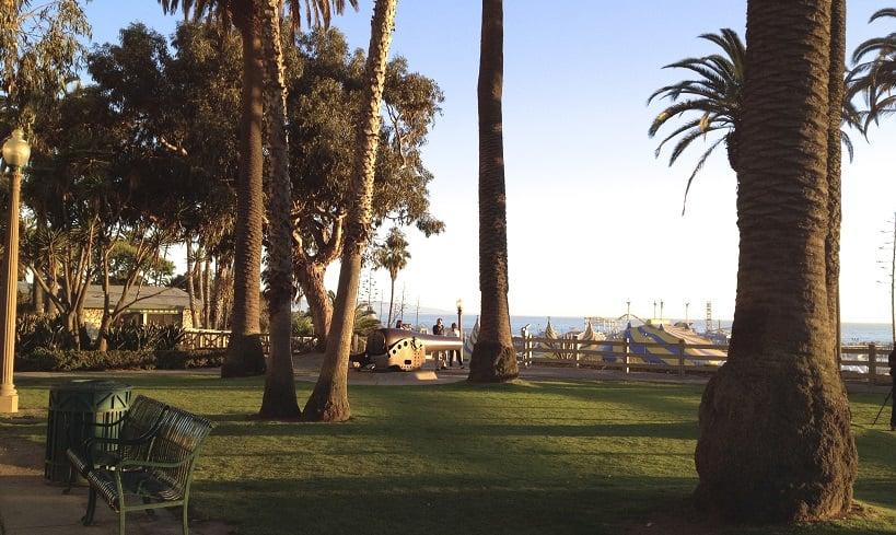 Parque Palisades Park em Santa Mônica