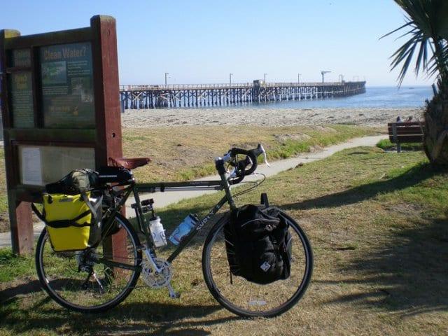 Cabrillo Bike Path em Santa Bárbara