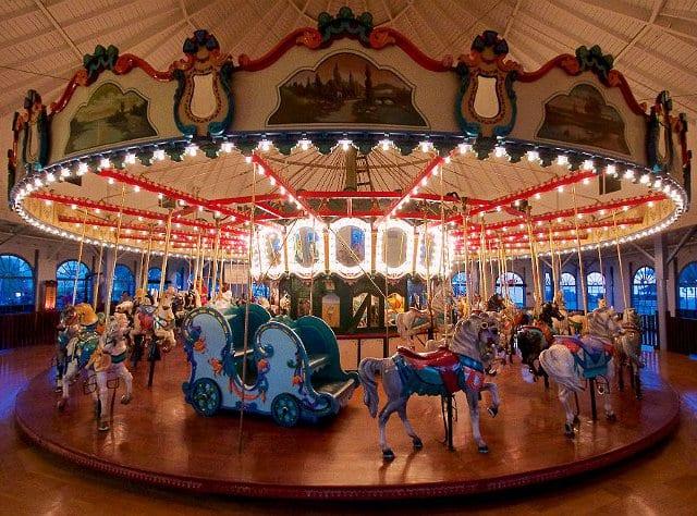 Looff Hippodrome em Santa Mônica