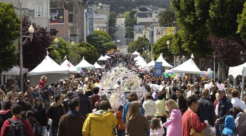 Movimentação de turistas no mês de maio em San Francisco