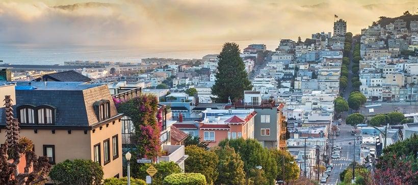 San Francisco em julho