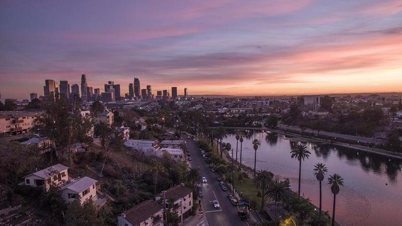 Turismo em Los Angeles em junho
