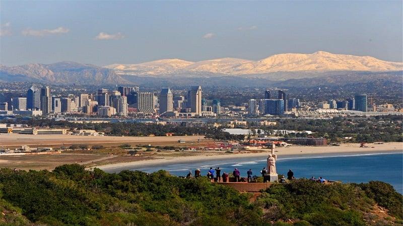 Movimentação de turistas no mês de setembro em San Diego