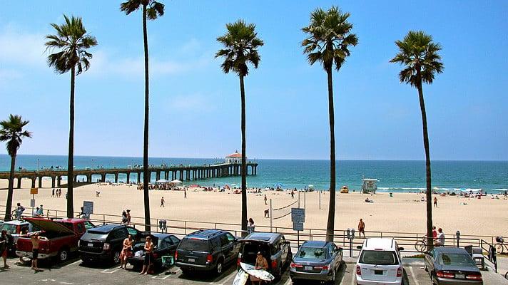 Verão em Los Angeles em setembro
