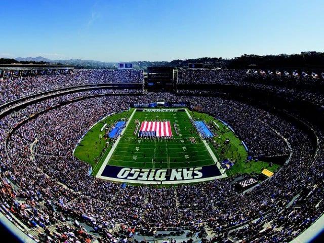 Onde comprar ingressos de jogos da NFL em San Diego