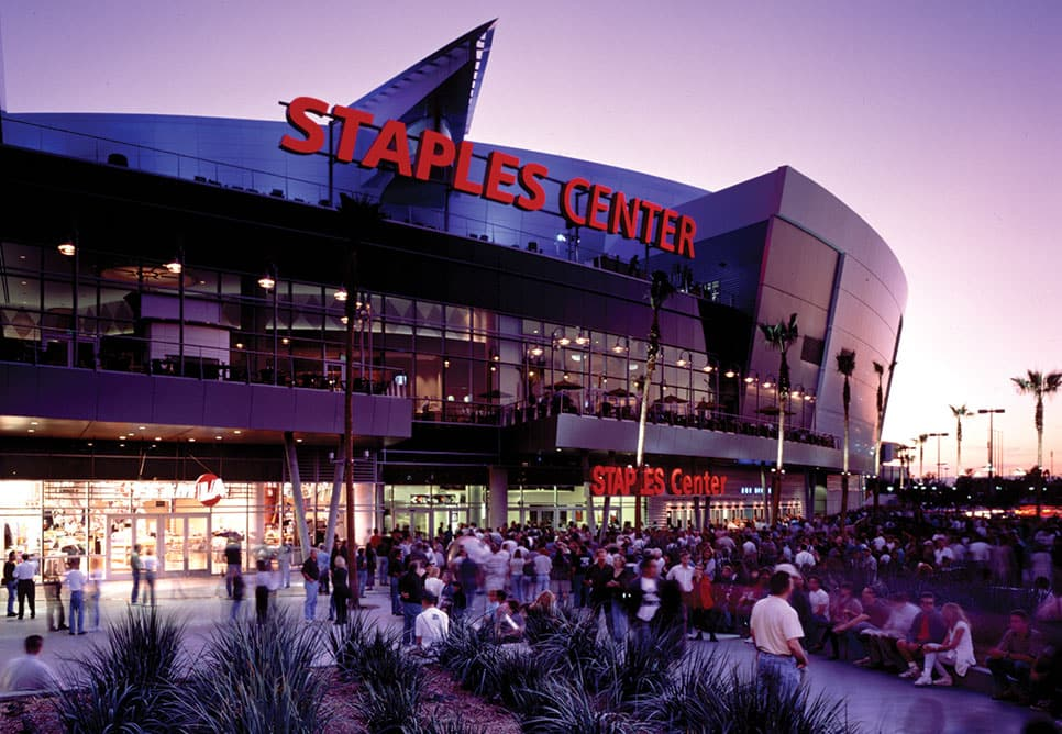 Estádio para assistir NBA e o Los Angeles Lakers em Los Angeles