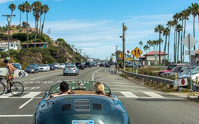 Viagem de carro de San Francisco à Los Angeles