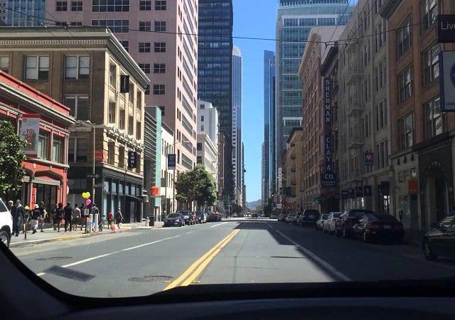 Viagem de carro de San Francisco à San Diego