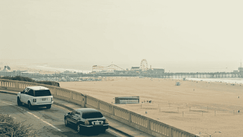 Aluguel de carro em Santa Mônica e na Califórnia