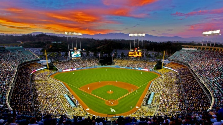 Dodger Stadium em Los Angeles