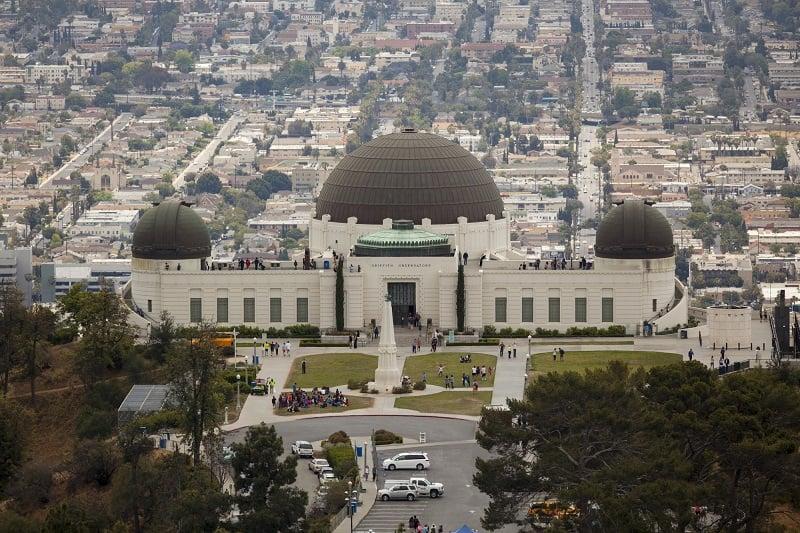 Tour pelo Griffith Park no verão em Los Angeles