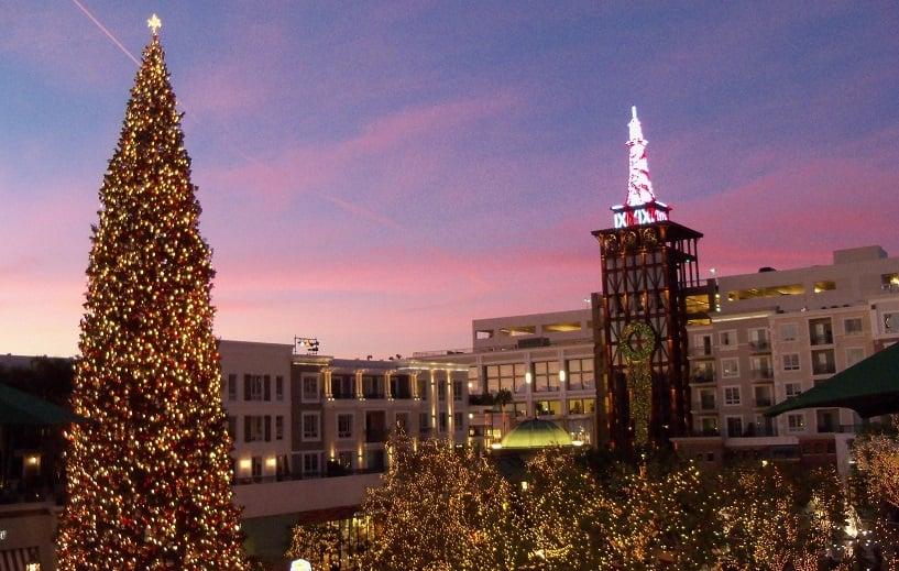 Atrativos no Natal em Los Angeles