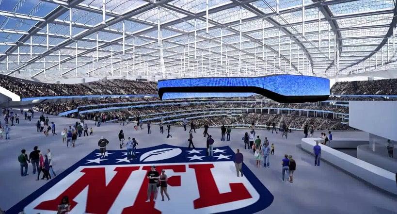 Curiosidade sobre o Los Angeles Rams em Los Angeles
