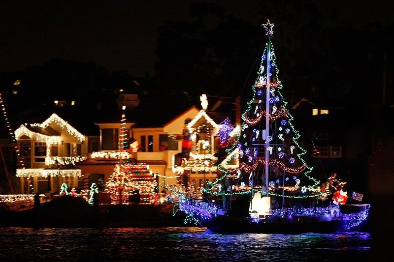 Lugares para ir no Natal em Los Angeles
