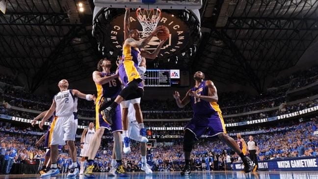 Los Angeles Lakers e NBA na Califórnia