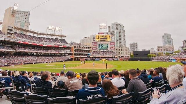 Onde comprar ingressos de jogos de beisebol em San Diego