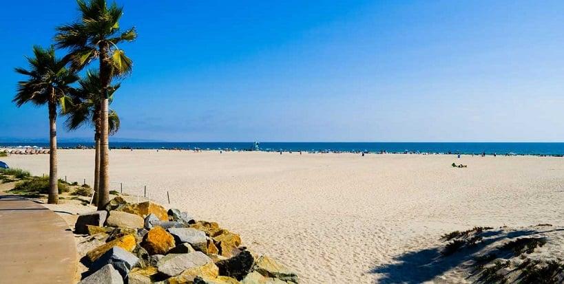 Visitas às belíssimas praias de San Diego