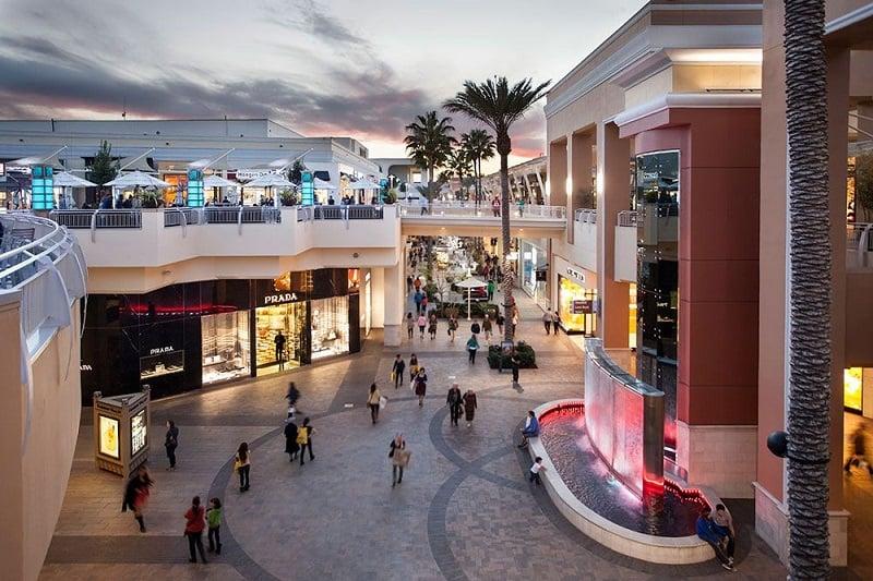 Compras nos diversos centros comerciais em San Diego