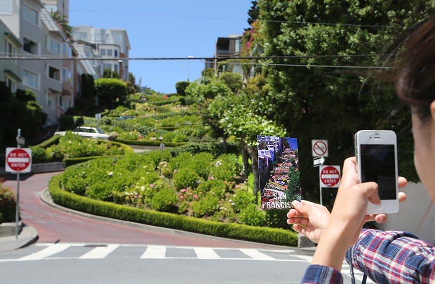 Movimentação de turistas no mês de dezembro em San Francisco