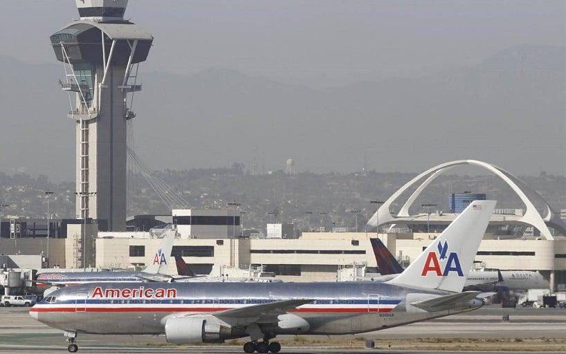 Serviço de aluguel de carro no aeroporto de Los Angeles